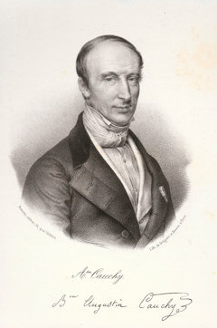 Louis Cauchy (* 21. August 1789 in Paris; † 23. Mai 1857 in Sceaux)