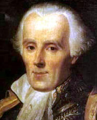 Pierre Simon de Laplace (* 28. März 1749 in Beaumont-en-Auge in der Normandie; † 5. März 1827 in Paris)