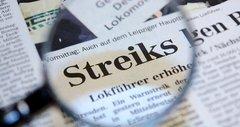 Bahnstreikkosten von einer halben Milliarde Euro