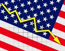 USA 2023 am dritthöchsten verschuldetes Land der Welt