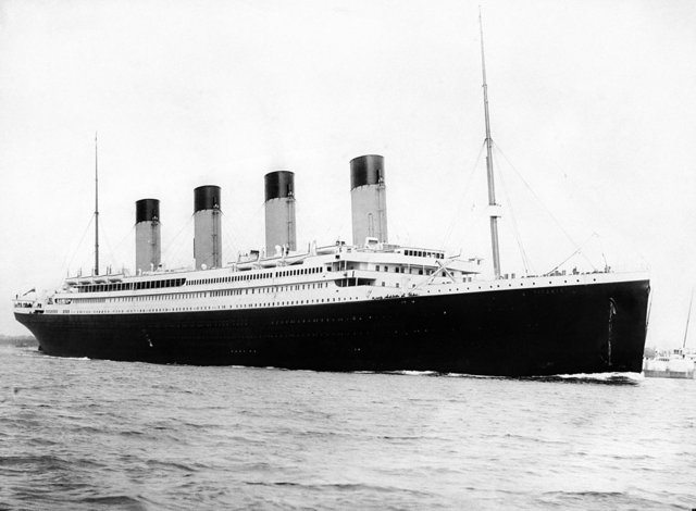 The RMS Titanic was a passenger liner owned by the British shipping company White Star Line.