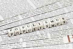 Risikofaktor Populismus: Die merkwürdige Reaktion der Kapitalmärkte auf den Populismus