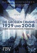 Barry Eichengreen: Die großen Crashs 1929 und 2008: Warum sich Geschichte wiederholt, Finanzbuch Verlag, München 2015, 560 Seiten, 34,99, ISBN 978-3-89879-890-7