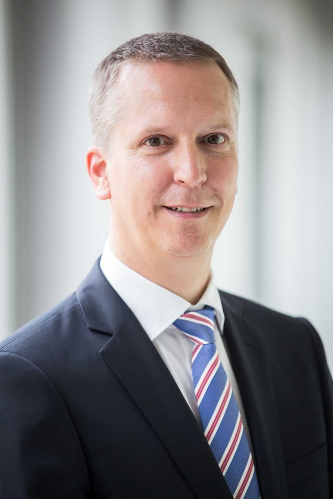 Robert Ebel, Head of Corporate Risk & Insurance Management, HOERBIGER Holding AG