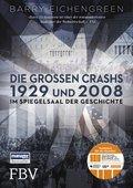 Barry Eichengreen: Die großen Crashs 1929 und 2008, Im Spiegelsaal der Geschichte, 608 Seiten, Finanzbuchverlag 2017, ISBN: 978-3-95972-068-7