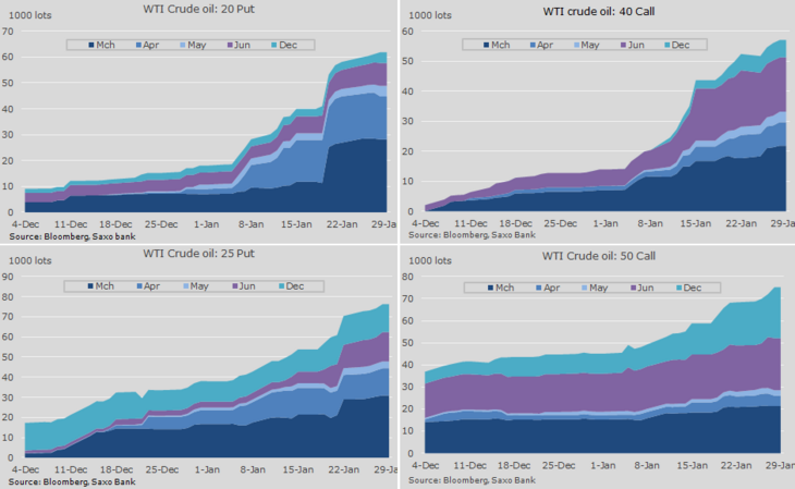 Figure 05: WTI crude oil options activity