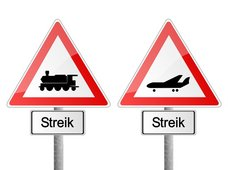 Risikobewertung Streik: Negative Folgen für Verkehr, Umwelt und Gesundheit