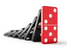 Großinsolvenzen zeigen heterogenes Bild: Insolvenzen mit Dominoeffekt nehmen zu