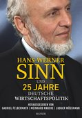 Meinhard Knoche, Gabriel Felbermayr, Ludger Wößmann (Hrsg.): Hans-Werner Sinn und 25 Jahre deutsche Wirtschaftspolitik, Hanser Verlag, 288 Seiten, München 2016, ISBN 978-3-446-44791-2