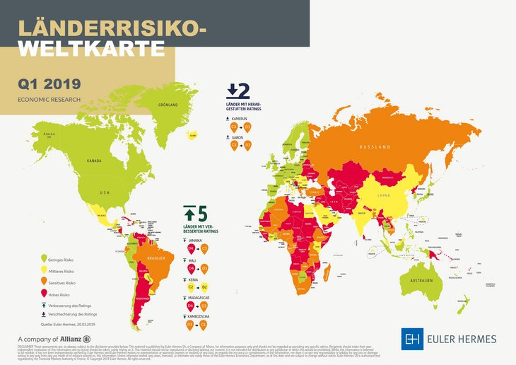 Download Country Risk Map 2019