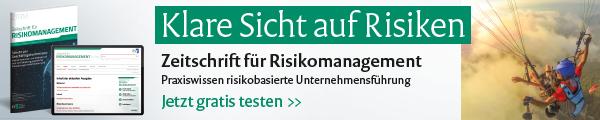 Zeitschrift für Risikomanagement