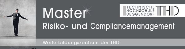 Master Risiko- und Compliancemanagement (RCM)
