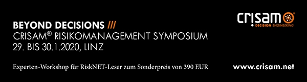 CRISAM® Risikomanagement Symposium 2020