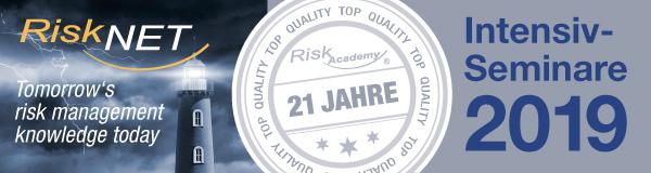 Risk Academy Seminare 2019