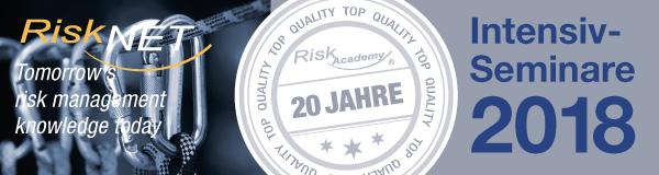 Risk Academy Seminare 2018