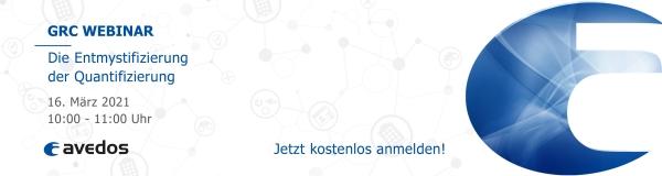 avedos Webinar: Die Entmystifizierung der Quantifizierung