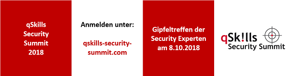 qSkills Security Summit 2018