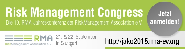 Risk Management Congress: Die 10. RMA-Jahreskonferenz am 21. & 22. September 2015 in Stuttgart