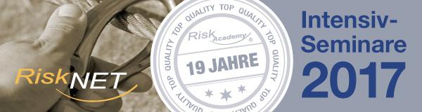 Risk Academy | Seminare 2017