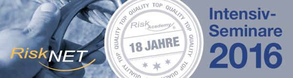 Intensiv-Seminare der RiskAcademy