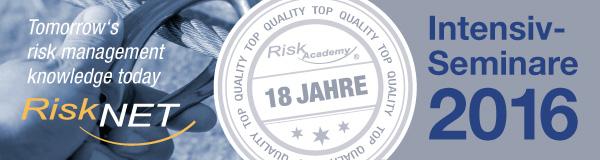 RiskAcademy - Seminare der RiskNET GmbH