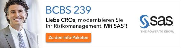 BCBS 239 / Risikodatenaggregation und Risikoreporting / SAS Institute